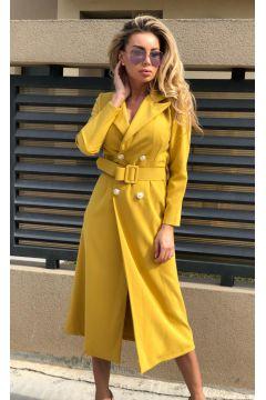 Rochie de Seara Poghy Yellow Bogas