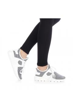 Pantofi sport dama Anyda albi