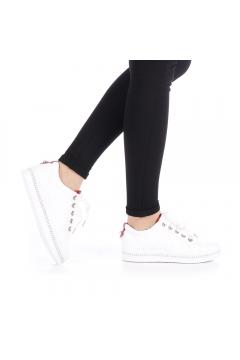 Pantofi sport dama Hebel rosii