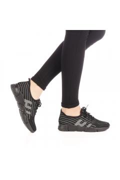Pantofi sport dama Simesa negri