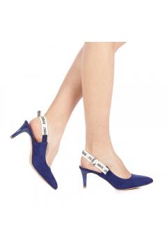 Pantofi dama Lipas albastri