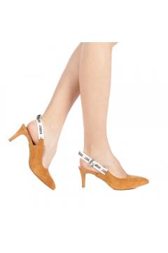 Pantofi dama Lipas camel