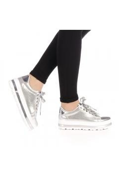 Pantofi sport dama Sudan argintii