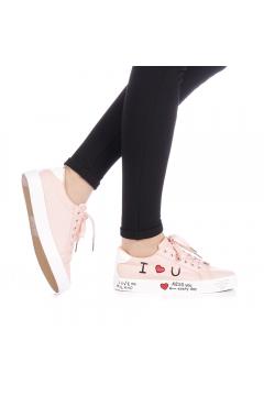 Pantofi sport dama Zediani roz