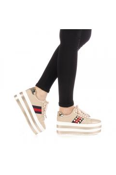 Pantofi sport dama Kaipo bej