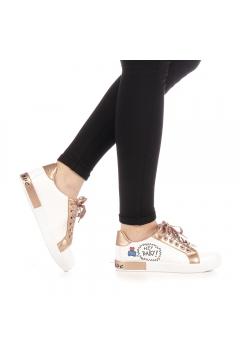 Pantofi sport dama Storia champanie