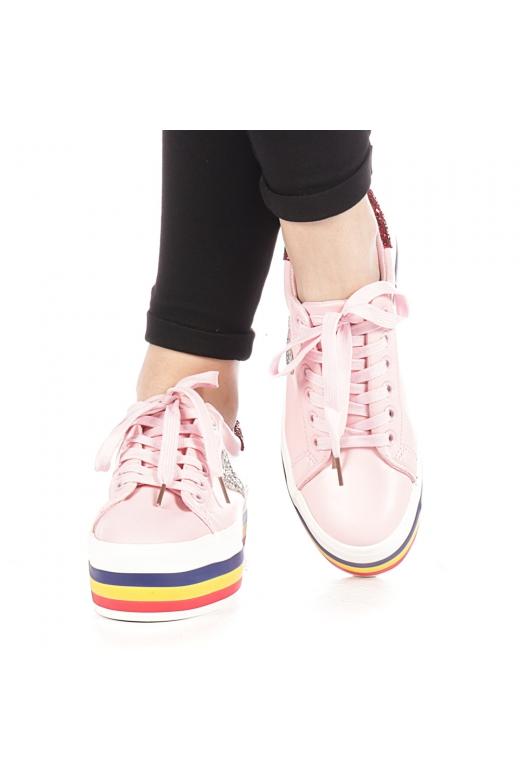 Pantofi sport dama Lejene roz