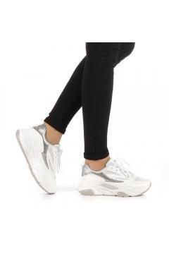 Pantofi sport dama Colis albi