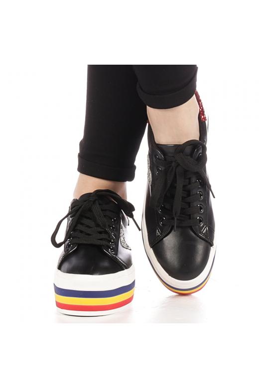 Pantofi sport dama Lejene negri