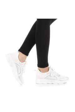 Pantofi sport dama Natan albi