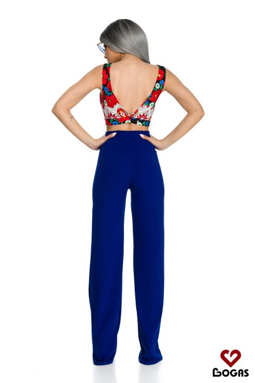 Pantaloni Kitt Blue Bogas