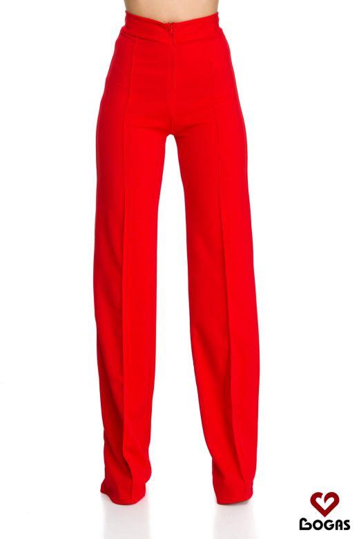 Pantaloni Kitt Red Bogas