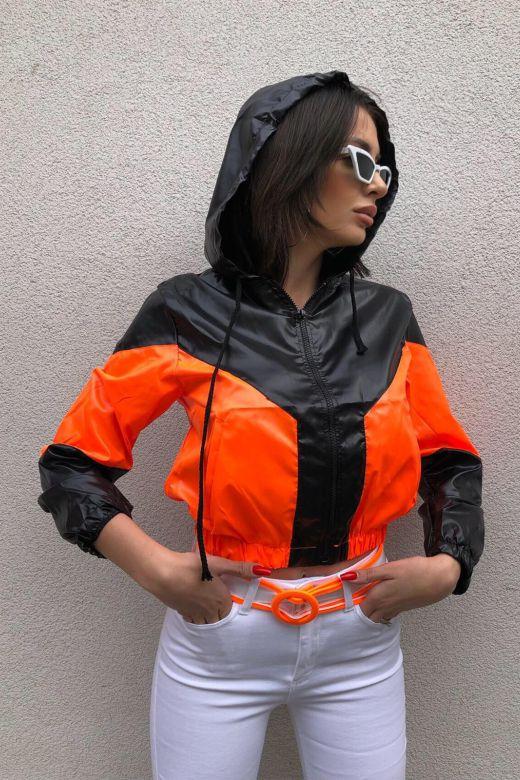 Geaca Luxury Orange Bogas