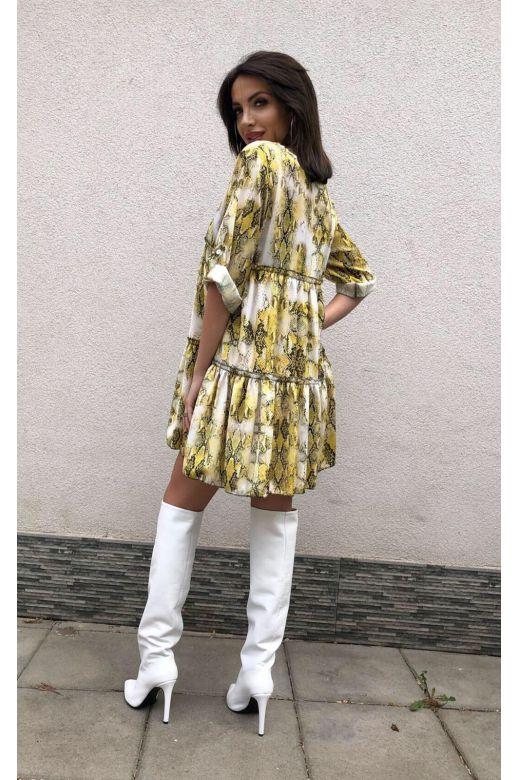 Rochie de Seara Storely Yellow Bogas
