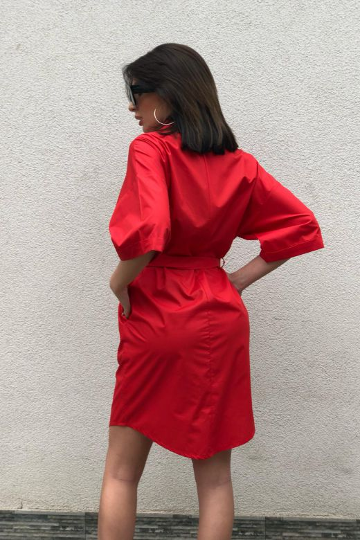 Rochie de Zi Teety Red Bogas