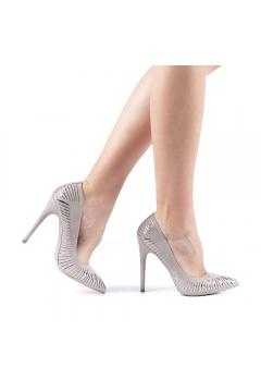 Pantofi dama Dena gri