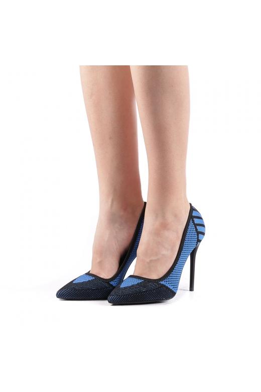 Pantofi dama Senan albastri