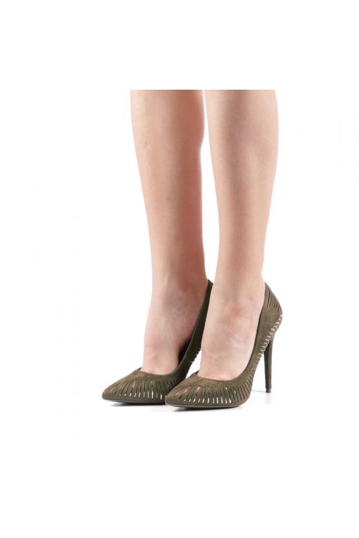 Pantofi dama Dena verzi