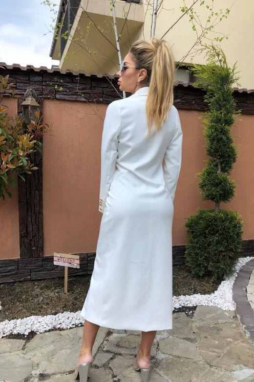 Rochie de Seara Maximo White Bogas