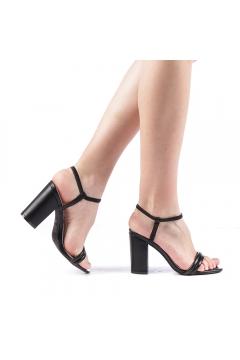 Sandale dama Branca negre
