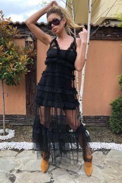 Rochie de Seara Yarap Black Bogas