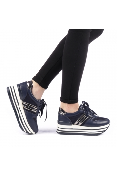 Pantofi sport dama Krasim albastri