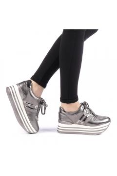 Pantofi sport dama Krasim gri