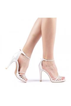 Sandale dama Axila argintii