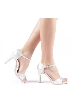 Sandale dama Sandesyn argintii