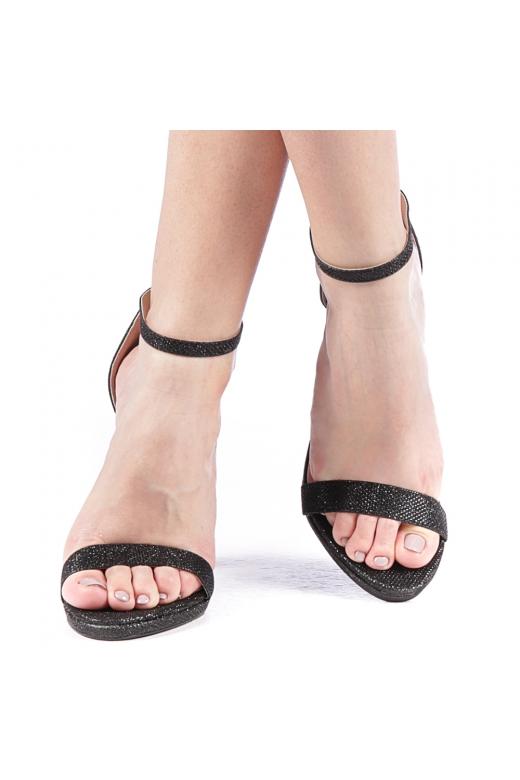 Sandale dama Tigera negre