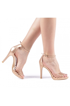 Sandale dama Axila champanie