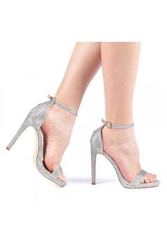Sandale dama Tigera argintii