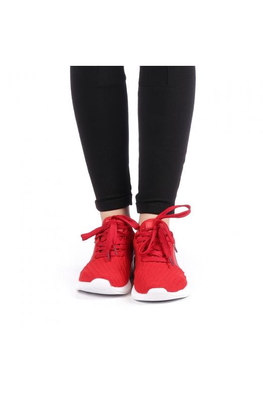 Pantofi sport dama Drasma rosii