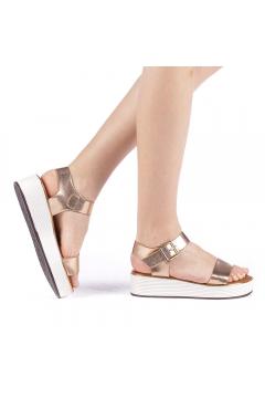 Sandale dama Slamia champanie
