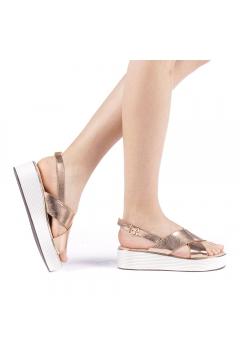 Sandale dama Favilla champanie