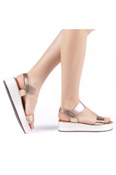 Sandale dama Azdira champanie