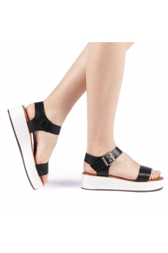 Sandale dama Slamia negre