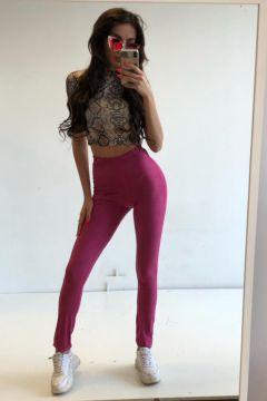 Pantaloni Pyla Pink Bogas
