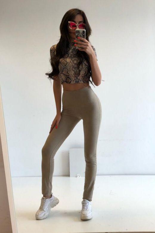 Pantaloni Pyla Cream Bogas