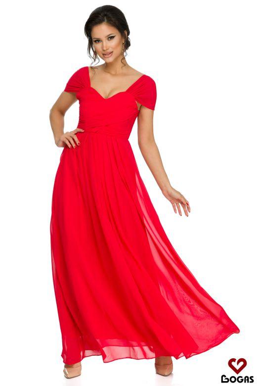 Rochie de Seara Zippa Red Bogas