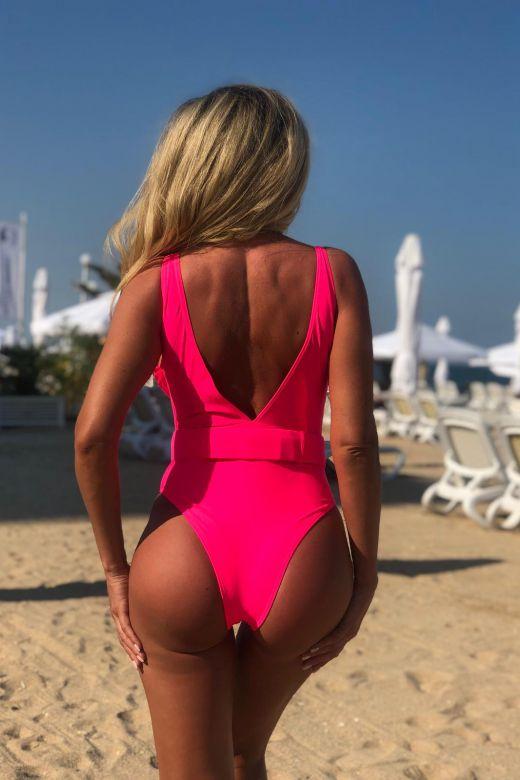 Costum de Baie Total Pink Bogas