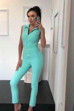 Salopeta Azula Turquoise Bogas
