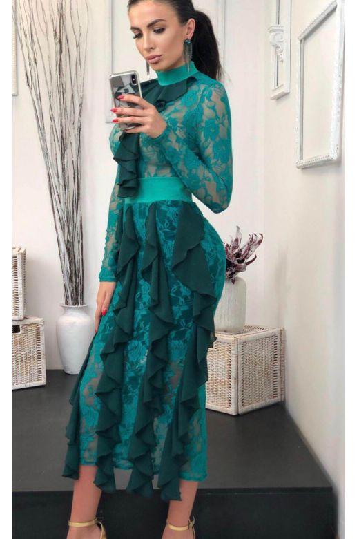 Rochie de Seara Nonntys Green Bogas
