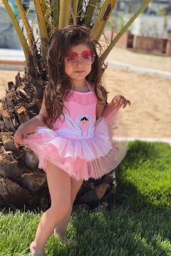 Costum de Baie Copii Gasty Pink Bogas