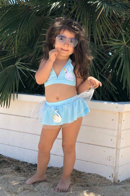 Costum de Baie Copii Tryta Blue Bogas