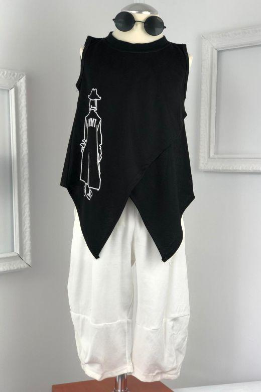 Compleu Copii Costumy Black White Bogas