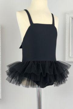 Costum de Baie Copii Fluffy Black Bogas