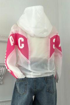 Geaca Copii Fassy White Pink Bogas