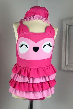 Costum de Baie Copii Pussy Pink Bogas