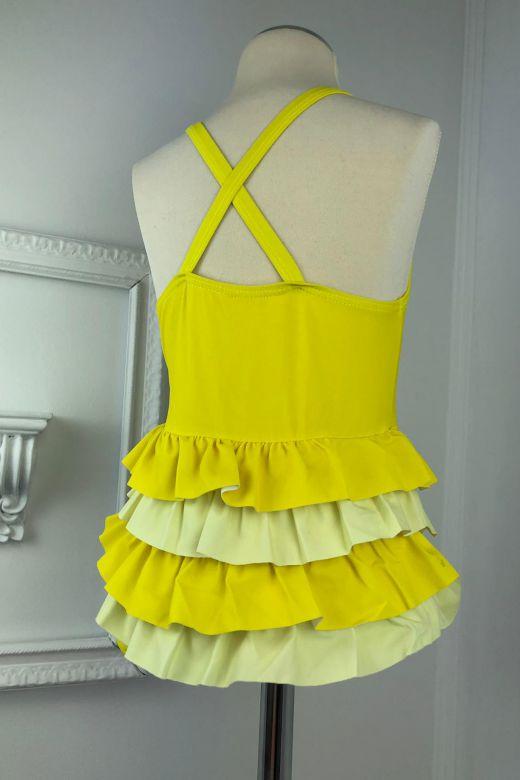 Costum de Baie Copii Pussy Yellow Bogas